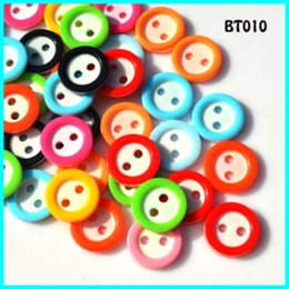 Wholesale Random Sweater - Round Flatback Resin Sewing Button 200Pcs Lot 12mm 2Holes Color Random Colors For Women Sweater Skirt And Children's Garment
