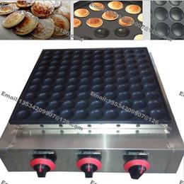 Nova 100 pcs Uso Comercial Não-stick GPL Mini Panque Poffertje Panqueca Holandesa Máquina De Fazer Pan Molde Pan de