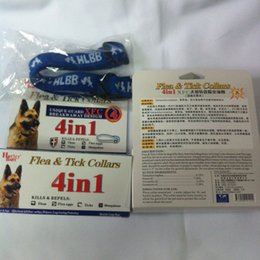Wholesale Tick Collars For Dogs - 4-Month Effective Anti Fleas & Ticks & Mosquitoes For Large Dogs Pets Collar Elimination Nylon Neck Strap With Retail Box