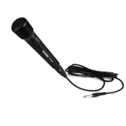 Wholesale Drums Mic - Superior Quality Wired or Wireless 2in1 Handheld Black Microphone Mic Receiver System Undirectional Cheap microphone drums
