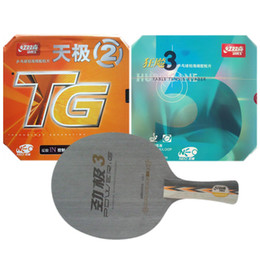 Wholesale Combo Table - Wholesale-Pro Table Tennis (PingPong) Combo Paddle   Racket: DHS POWER.G3 + NEO Hurricane3   NEO Skyline TG2