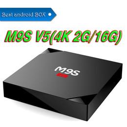Wholesale Phoenix V5 - 2GB+16GB quad core rk3229 m9s V5 android 6.0 ott tv box pre-loaded KD17.3 phoenix Exodus add-ons better X96 mini S905W TX3 TX2