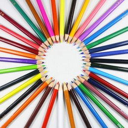 Wholesale Normal Pencil - 36 Colored Pencils - Vibrant Colors Pre-Sharpened Colored Pencils Set for Adult Coloring Books Artist Drawing Sketching Crafting