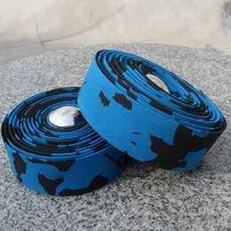 Wholesale Bicycle Handlebar Tapes - Wholesale Outdoor Sports Bike Bicycle Cycle Handlebar Tape Wrap & 2 Bar Plug Accessories MN0079 kevinstyle