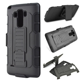 Wholesale G3 Hard Case - For LG Stylus 2 Plus   G4   G3   G2 Future Armor Case Hybrid Hard Cover+ Belt Clip Kickstand D830 D850 D831 G Vista2 H740