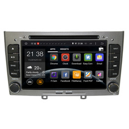 Wholesale Car Dvd Player Gps Peugeot - Car DVD Player Android 5.1 For peugeot 308 308SW With 3G Host Radio GPS Navigation RDS Buetooth 1080P Ipod Free Maps