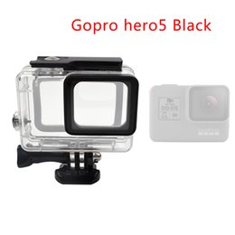 Wholesale Gopro Camera Waterproof - Go pro accessopries 45m Underwater Diving Waterproof Case Shell Cover Housing Skeleton frame for Gopro hero 5
