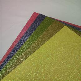 Wholesale Glossy Invitations - new glitter card stock invitation bright colors 50 piece