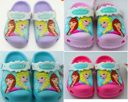 Wholesale Baby Shower Mints - 33 color 2016 new summer hole Children Brand Cartoon Garden Shoes Clog Sandal Slippers baby girls and boys beach slides