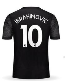 Wholesale Jersey 11 - Customized Thai Quality 17-18 new 10 IBRAHIMOVIC Soccer Jerseys Shirt Tops, 9 LUKAKU,6 POGBA,19 RASHFORD,11 MARTIAL Soccer Jersey Tops Shirt