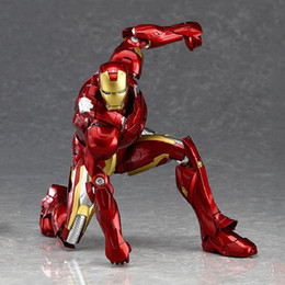 Wholesale Movie Kits - 2017 Hot Sell Marvel Iron man Garage Kits Kids Toys Marvel's The Avengers Movies & Video Game & Cartoon Toys and Gift For Big Kids