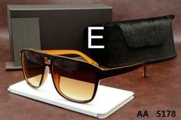 Wholesale Leather Skinny - Top Quality New Fashion Tom 0394 Sunglasses Ford Man Woman Erika Eyewear Designer Brand Sun Glasses Matt Leopard Gradient Lenses Box Cases