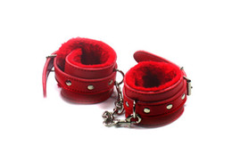 Wholesale Leather Ankle Shackles - Unisex PU Leather Adjustable Spreader Bar Bondage Set Man Woman Hogtie Hand Ankle Cuffs Fetish bdsm Restraints Shackles Ankle Cuffs Sex Toy