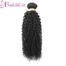 Wholesale Bleached Curly Weave - Malaysian hair bundles kinky curly 100g pc Malaysian Human hair weave Bundles 8-28inch kinky curly Extensions Can Be Dyed and Bleach Cheap