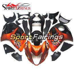 Wholesale Hayabusa Fairing Injection - Fairings For Suzuki GSXR1300 Hayabusa Year 08 09 10 11 12 13 14 15 2008-2015 ABS Motorcycle Full Fairing Kit Motorbike Orange Black Covers
