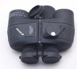 Canada Gros-2 jumelles couleur BOSTRON 10X50 télescope vision nocturne marine jumelles avec RANGEFINDER et illuminateur rétroéclairé électronique Compass RETICLE Offre