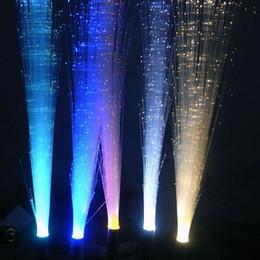 Wholesale 3w E27 Led Fiber Optical - Led G4 Fiber Optical Light 12V DC Indoor Decorative Lighting New Year Bulb Lamp Green, Red, Blue, Warm White, White, Yellow