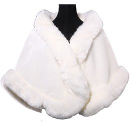 Wholesale Winter Coats Quality Cheap - 2017 Free Size Bridal Wraps Cheap Price Faux Fur Winter Wedding Coats In Stock High Quality Colors Available Wedding Accessories Gown Cheap