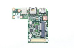Wholesale Asus Power Board - U30JC LAN BOARD for ASUS U30SD U30JC U40SD Series Laptop Power Board LAN USB2.0 CR2032 Together