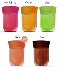 Wholesale Magic Cup Lid - 2017 NEW Creative The Right Cup Fruit Flavored Cup Drink Water Like What You Smell magic cup ointment juice bottle