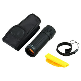 Wholesale pocket scope - Wholesale-1pc Telescope Handy Scope for Sports Camping Hunting Brand New Pocket Compact Monocular