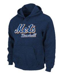 Wholesale Big Tall Men New - 2016 New Men's New York Mets Pullover Hoodies New York Mets Big & Tall Logo Pullover Sweatshirt Hoody,Size S-3XL