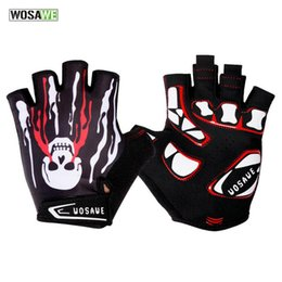 Wholesale Women Gel Cycling Gloves - New Breathable Cycling Glove Half Finger Gel Men Women MTB Mountain Road Bike Bicycle Anti-Slip Windproof Cycling Gloves H2063