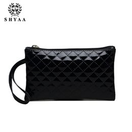 Wholesale Envelope Supply Bags - SHYAA Small Wholesale 2016 New Handbag PU Lingge Women Bag Stall Supply Mobile Phone Bag Women Messenger Bags 10pcs lot drop shipping