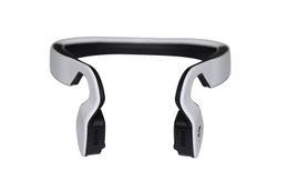Wholesale Neck Headphones - Wholesale-Wireless Bluetooth Stereo Headset Bluetooth 4.0 Neck-strap Headphone Bone Conduction NFC Sports Bluetooth Earphone Handsfree