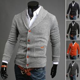 Wholesale Cotton Wool Turtlenecks - Wholesale-Fashion men sweater winter cotton cardigan ropa hombre turtleneck dress casual suetar masculino long-sleeve mens clothes