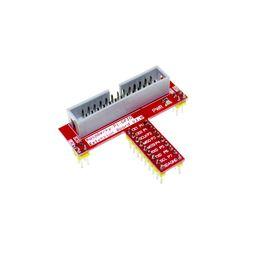 Wholesale Adapter Regulator - Free Shipping 10Pcs lot Raspberry pie Raspberry PI GPIO adapter plate for breadboard gold plug-in version