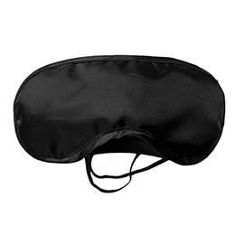Wholesale Travel Rest - Eye Sleep Masks Eye Mask Shade Nap Cover Blindfold Sleeping Sleep Travel Rest H1996 Black by dhl(0612001)