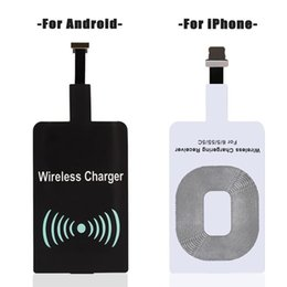 Wholesale Android Module - Universal Qi Wireless Charging Receiver Film Patch Module Wireless Charger For Samsung Apple iphone 7 6 plus Universal android