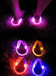 Wholesale Toys Outdoor Chain - CCX LED night light shoe clip light movement Outdoor night running safety lights Warning Lighted Glow dark toy