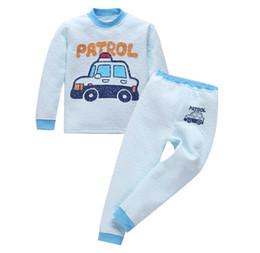 Wholesale Kids Winter Pjs - baby cartoon pajamas boys pyjama sets girls sleepwear kids boutique pijama children spring autumn winter nightgown pjs kid inside out pyjama