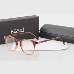 Wholesale People Reading - Wholesale- Hot! Vintage optical glasses Oliver Peoples Style 5256 o malley Myopia reading Glasses Frame Men   Women Retro Eyeglasses frame