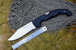Cuchillos plegables VOYAGER de acero en frío con hoja de 440C mango de nylon al aire libre caza cuchillo de bolsillo herramientas EDC desde fabricantes