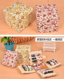 Wholesale Completed Embroidery - DHL Multi-function Sewing Basket Damask Modern Sewing Basket Kit Complete with Everything You Need to Tackle with Sewing Kit Accessories