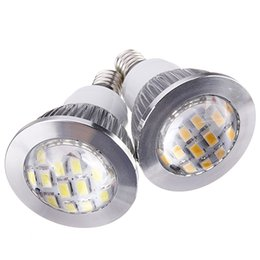 Wholesale Screw Led Spots - Wholesale Price E14 6W 5630 Screw LED 16 SMD Energy Saving Pure Warm White Spot Down Light Lamp Bulbs 220V