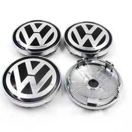 Wholesale Golf Hub Caps - VW WHEEL CENTER CAPS RIM HUB CAP 60mm 55 Volkswagen PASSAT Jetta GOLF Bettle