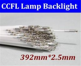 Wholesale Ccfl Tube Lights - OWK CCFL light LCD lamps 18.5inch 18.5'' 392MM 39,2 Lamp tube 15pcs lot LCD Backlight tube LCD 392 mm