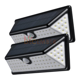 Wholesale Solar Lights Pir Sensor - 73 LEDs LED Solar PIR Lights 730LM Outdoor Waterproof Motion Sensor Solar Lamp LED Patio Lights