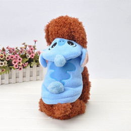 Wholesale Dog Online - Cartoon Stitch Dog Winter Clothes Puppy Cat Halloween Costumes Apparel Online Shop Free Shipping