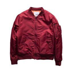 Homme Season Jacket Kanye Hip Street Hop West 3 Rmen Ma1 Pink Bombe zwfBq