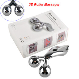 Wholesale Faces Rotate - 3D Roller Massager 360 Rotate 3D Full Body Shape Massager for Face and Body Lifting Wrinkle Remover Y Shape Roller Massager
