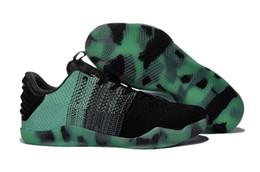 Wholesale Men S Shoes 12 - 2016 Good Men's Basketball S kb 11 Elite Sports Shoes Top quality XI KB Weaving Sports Training Sneakers Size 7-12