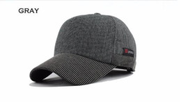 Wholesale Ear Domes - Warm Winter Thickened Baseball Cap With Ears Men'S Cotton Hat Brand Snapback Winter Hats Ear Flaps For Men Women Wholesale