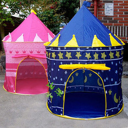 Wholesale Play Tent House - Wholesale-New arrival! Children Kid Indoor Outdoor Garden Pop-Up Princess Castle Play-Tent Play-House
