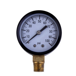 "Wholesale Pump Pressure Gauges - Wholesale-2016 New 1pcs Simmons 1305 0-100 PSI 1 4"" Well Pump Water Pressure Gauge TS50-100PSI high quality"