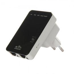 Répéteur de mini routeur sans fil en Ligne-Mini routeur Wireless-N Répéteur AP Brücke WAN / LAN-Port EU-Stecker 300Mbps